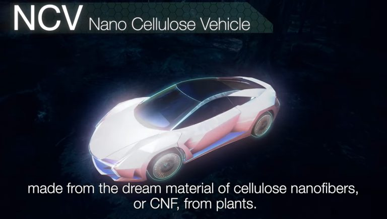 NCV~脱炭素社会を目指した次世代素材 CNF自動車の開発